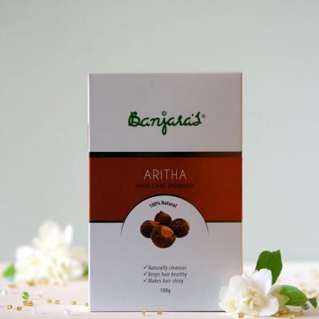 Aritha w proszku do pielęgnacji włosów - Banjara's
