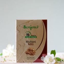 Multani Mitti maseczka do twarzy w proszku - Banjara's