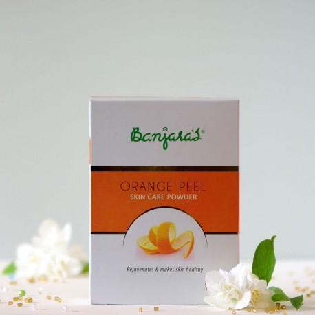 Skórka Pomarańczowa maseczka do twarzy w pudrze - Banjara's
