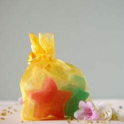 Owocowe mydełka Gwiazdki - The Secret Soap Store