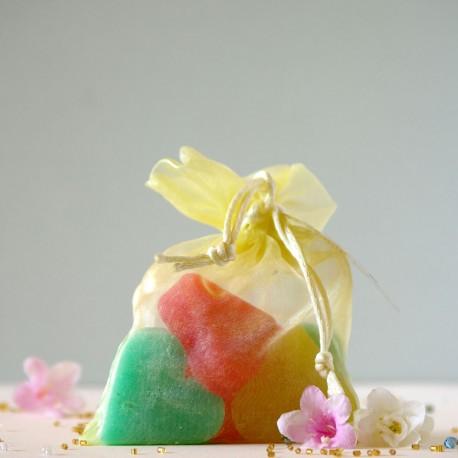 Mydełka owocowe Serduszka - The Secret Soap Store