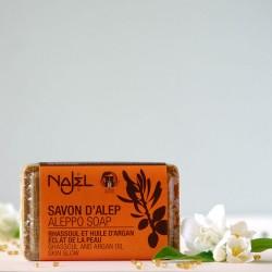 Mydło Aleppo glinka rhassoul i olej arganowy Najel