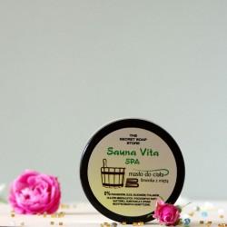 Masło do ciała Limonka & Mięta - The Secret Soap Store