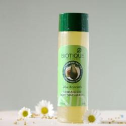 Antystresowy olejek do masażu ciała - Biotique