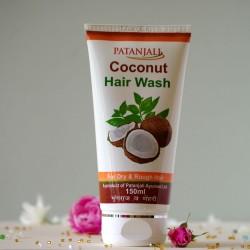 Kokosowy szampon do włosów suchych - Patanjali