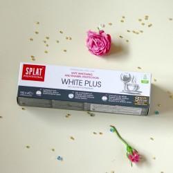 WHITE PLUS wybielająca pasta do zębów - SPLAT