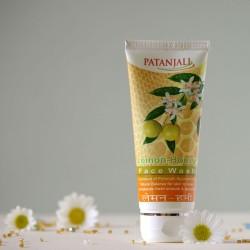 Cytryna & Miód żel do mycia twarzy - Patanjali