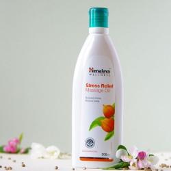 Antystresowy ziołowy olejek do masażu Himalaya