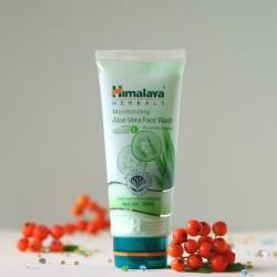 Aloesowy nawilżający żel do mycia twarzy - Himalaya