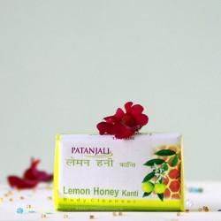 Ajurwedyjskie mydło cytryna i miód - Patanjali