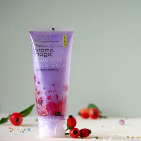 Żel do mycia twarzy Lawenda - aroma magic