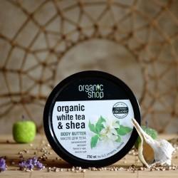 Masło shea z białą herbatą Organic Shop