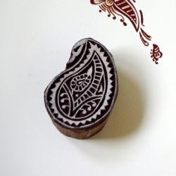 Indyjski drewniany stempel - orient