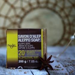 Mydło Aleppo 20 % Najel