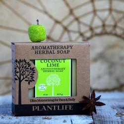 Kokos i limonka mydło nawilżające PLANTLIFE