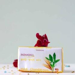 Ajurwedyjskie mydło Kurkuma i Sandał - Patanjali