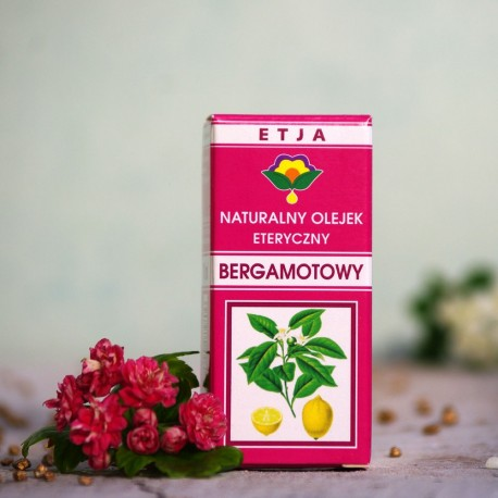 Eteryczny olejek Bergamotowy Etja 10 ml.