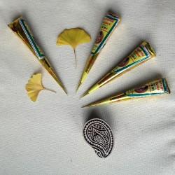 Henna w rożku do malowania dłoni i stóp - Supreme