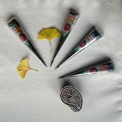 Henna w stożku do malowania dłoni i stóp - Supreme