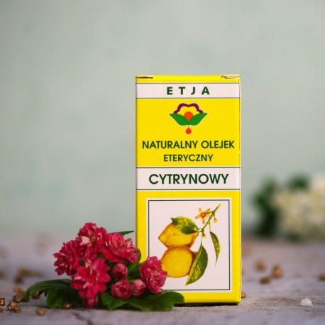 Eteryczny olejek Cytrynowy Etja 10 ml.