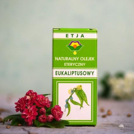 Eteryczny olejek Eukaliptusowy Etja 10 ml.