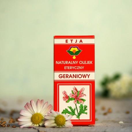 Eteryczny olejek Geraniowy Etja 10 ml.