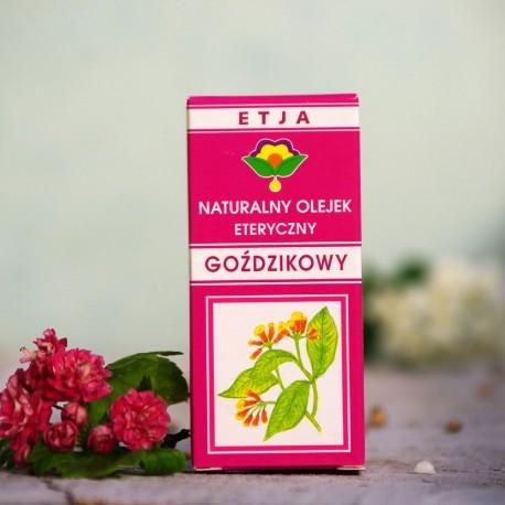 Eteryczny olejek Goździkowy Etja 10 ml.