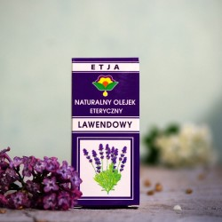 Eteryczny olejek Lawendowy Etja 10 ml.