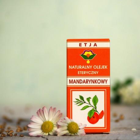 Eteryczny olejek Mandarynkowy Etja 10 ml.