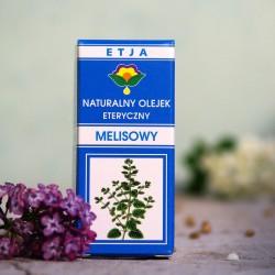 Eteryczny olejek Melisowy Etja 10 ml.