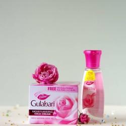 Nawilżający krem różany - Dabur
