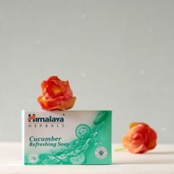 Odświeżające mydło ogórkowe - Himalaya Herbals