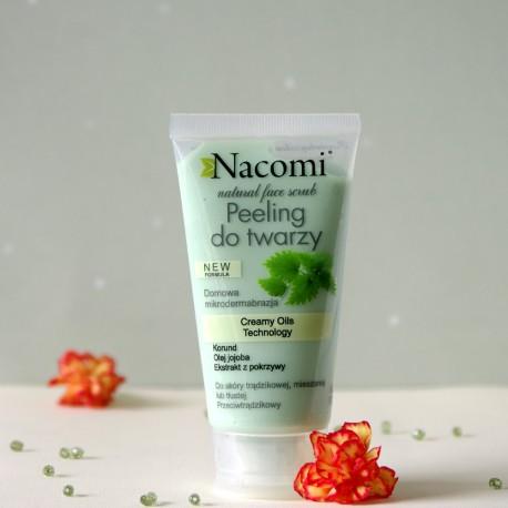 Przeciwtrądzikowy peeling do twarzy - Nacomi