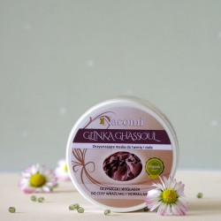 Organiczna Glinka Ghassoul w pudrze - Nacomi