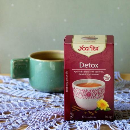 Bio Herbata Detox - YOGI TEA