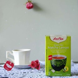 Bio Herbata Green Tea Matcha Lemon - YOGI TEA