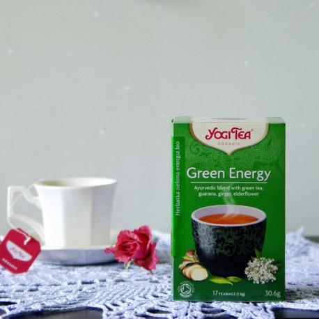 Bio Herbata Green Balance - YOGI TEA
