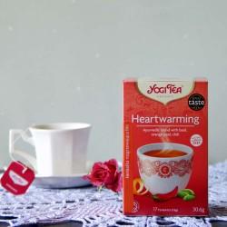 Bio Herbata Heartwarming - YOGI TEA