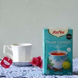 Bio Herbata Throat Comfort - YOGI TEA