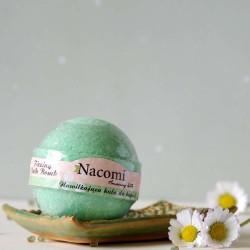 Musująca kula do kąpieli zielona herbata - Nacomi