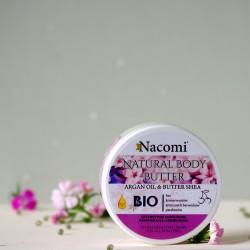 Naturalne masło do ciała Wiśnia - Nacomi