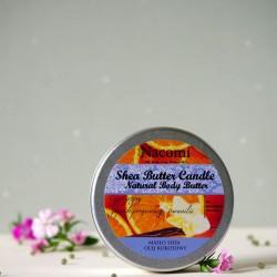 Balsam w świecy o zapachu Pomarańczy i Wanilii - Nacomi