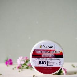Naturalne masło do ciała Piżmo - Nacomi