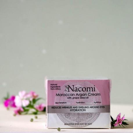 Krem arganowy pod oczy - Nacomi