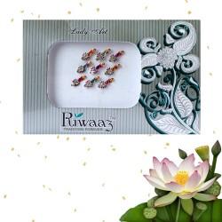 Indyjskie eleganckie bindi 9 sztuk