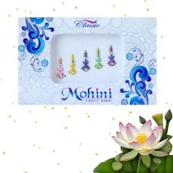 Indyjskie pastelowe bindi 5 sztuk