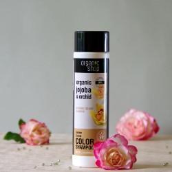 Złota Orchidea szampon do włosów farbowanych - organic shop