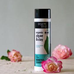 Błękitna Laguna wzmacniający szampon do włosów - organic shop