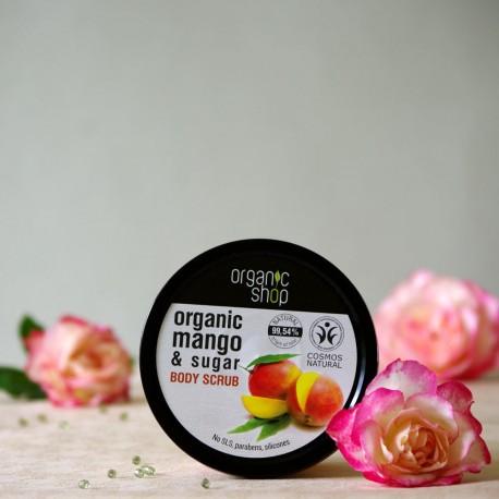Kenijskie Mango scrub do ciała - organic shop