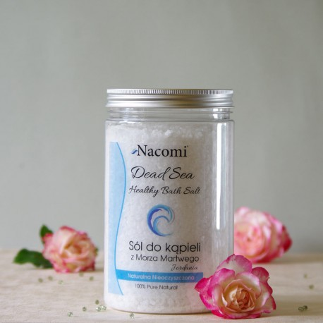 Sól do kąpieli z Morza Martwego - Nacomi